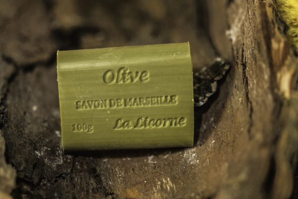 Rectangle 100g Olive, Real Marseille Soap, made in Marseille