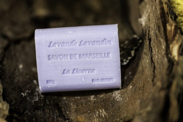 Rectangle 100g Lavande, Real Marseille Soap, made in Marseille