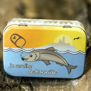 La Licorne Rectangular Metal Box 100g