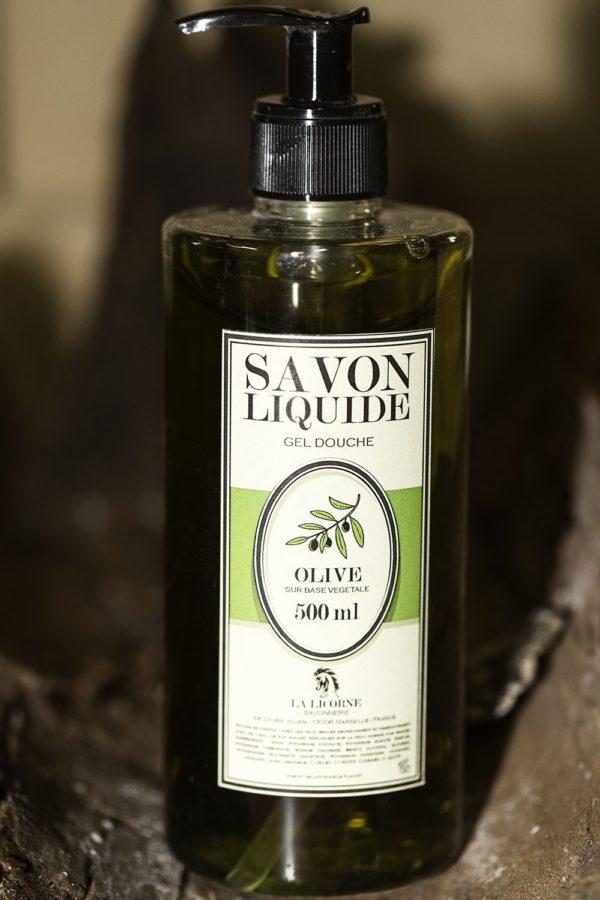 Savon liquide 500ml olive