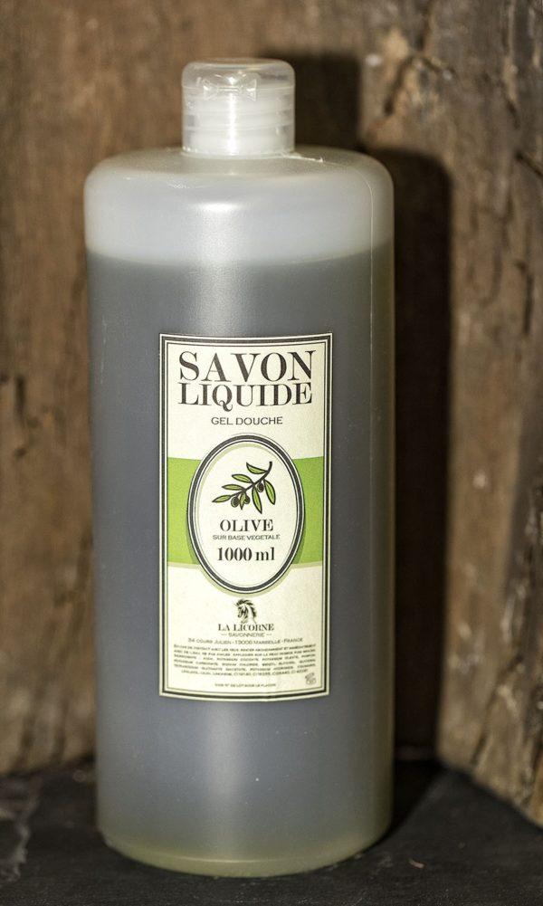 Savon liquide 1000ml olive
