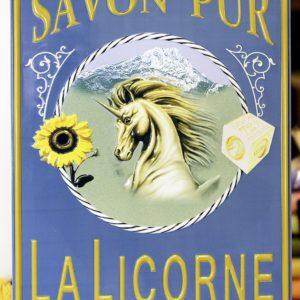 Plaque Métal La Licorne