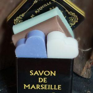 Boîte Métal, 2×2 Savons de Marseille