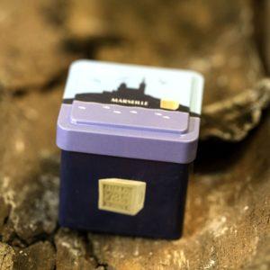 Boîte Cube Métal La Bonne Mère pour un cube 100 g