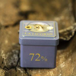 Boîte Cube Métal La Licorne pour un cube 100 g