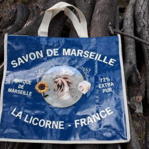 shopping bag La Licorne big size