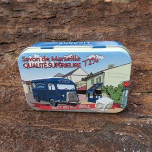 Boîte Métal bus licorne 100 g
