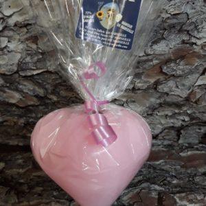 Savon de Marseille coeur 3D rose