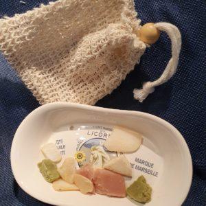 Ne jetez plus vos petits morceaux de savon: zéro déchet!